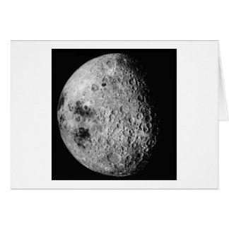 A lua cartão