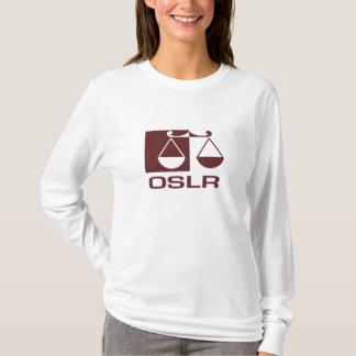 A luva longa camisa dianteira e traseira de OSLR