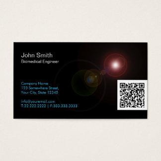 A luz alarga-se cartão de visita do Biomedical de