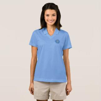 A luz das mulheres - pólo azul camisa polo