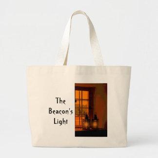 A luz de baliza sacola tote jumbo