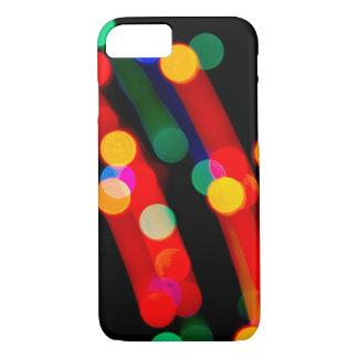 A luz de Natal de Bokeh arrasta capas de iphone