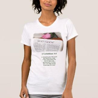 A luz do evangelho camiseta