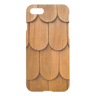 A madeira Shingles capas de iphone