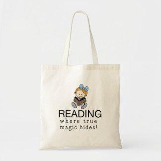A mágica da leitura - o bolsa dos amantes de livro
