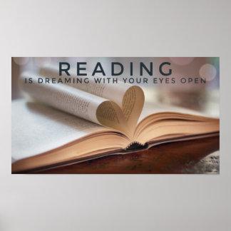 A mágica do poster da leitura
