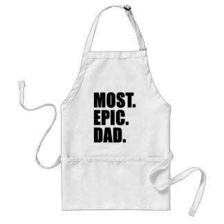 A maioria de avental épico do churrasco do pai
