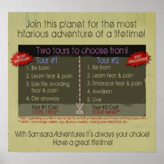 A maioria de aventuras divertidas de Samsara Poster