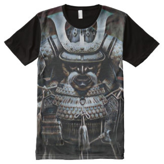 A maioria de fantasia escura popular da sombra do camiseta com impressão frontal completa