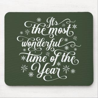 A maioria de hora maravilhosa do ano | Mousepad