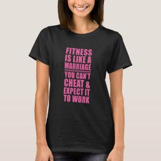 A malhação é como camisetas engraçadas do