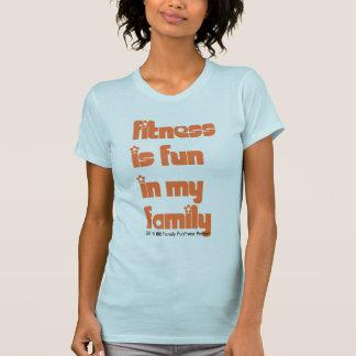 A malhação é divertimento em minha família tshirt