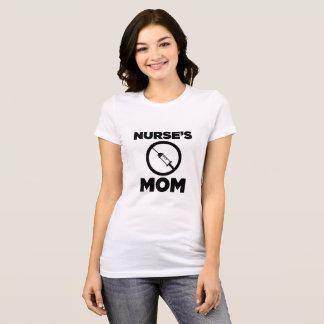 A mamã da enfermeira - design simples camiseta