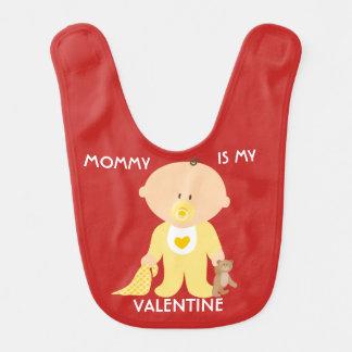 A mamãe customizável é meu babador do bebê dos