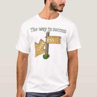 A maneira ao sucesso camiseta