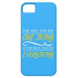 A maneira você faz TUDO capa de telefone