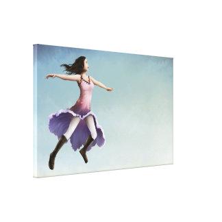 A manhã Gloria 45x24 esticou o impressão da arte d Impressão Em Tela Canvas