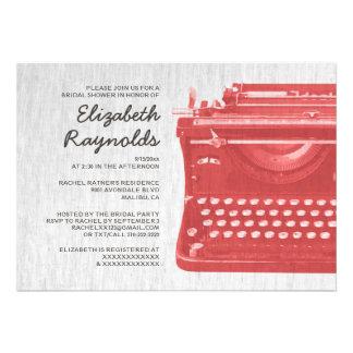 A máquina de escrever elegante fecha chás de panel