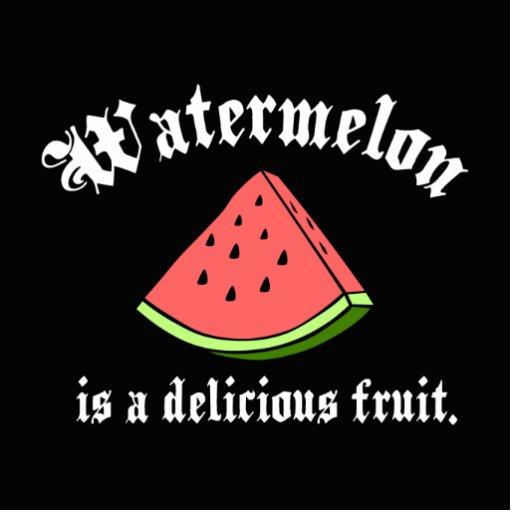 A melancia é uma fruta deliciosa escultura de fotos