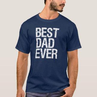 A melhor camisa sempre engraçada do pai