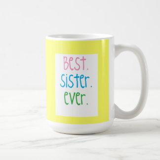 A melhor caneca da irmã nunca