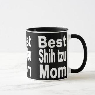 A melhor caneca da mamã do tzu de Shih, cão