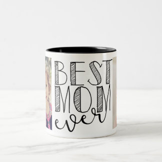 Caneca De Café Em Dois Tons A melhor caneca da mamã nunca