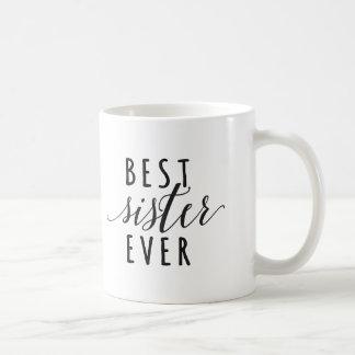 A melhor caneca de café da irmã nunca