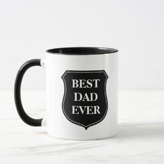 A melhor caneca de café do pai nunca com citações