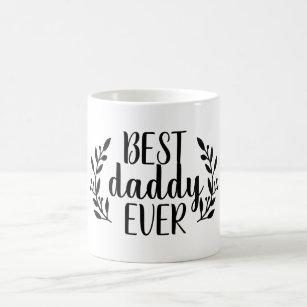 A melhor caneca de café nunca personalizada do pai