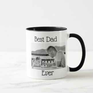 A melhor caneca de café personalizada da foto do