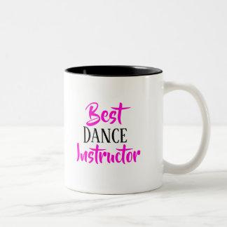 A melhor caneca do instrutor da dança