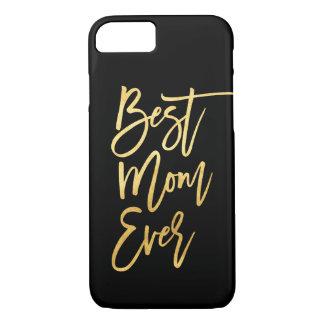 A melhor capa de telefone do ouro da mamã nunca