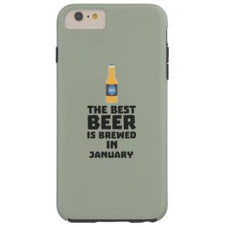 A melhor cerveja é em maio Z96o7 fabricado cerveja Capa Tough Para iPhone 6 Plus