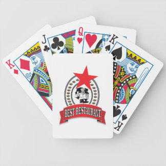 a melhor estrela vermelha do restaurante baralhos para pôquer