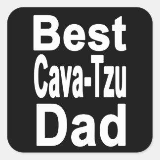 A melhor etiqueta Oca-Tzu do pai, cão bonito