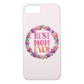 A melhor grinalda floral da mamã nunca - capa iPhone 7