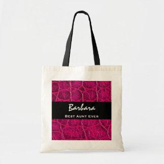 A melhor ideia do presente do impressão do jacaré sacola tote budget