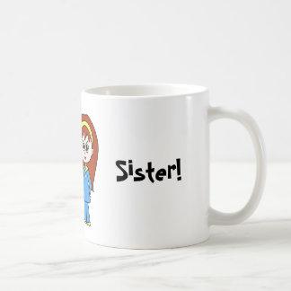 A melhor irmã do mundo! caneca