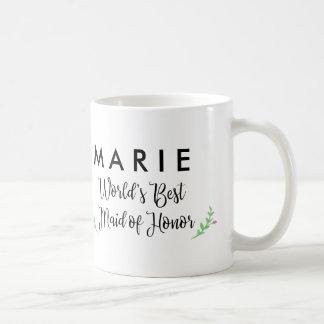 A melhor madrinha de casamento do mundo caneca de café