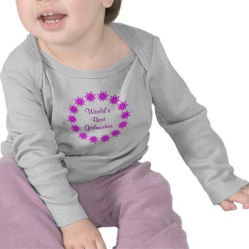 A melhor madrinha do mundo (rosa) t-shirts