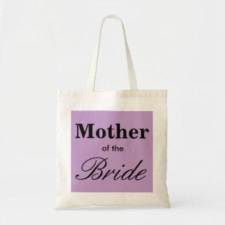 A melhor mãe da lavanda do roxo do bolsa da noiva