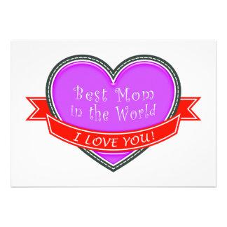 A melhor mamã no mundo