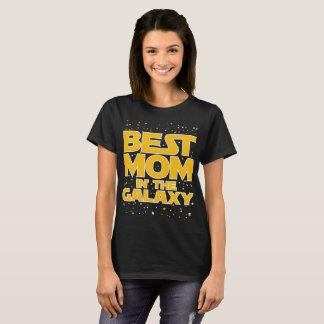 A melhor mamã no t-shirt da camisa de Starwars da