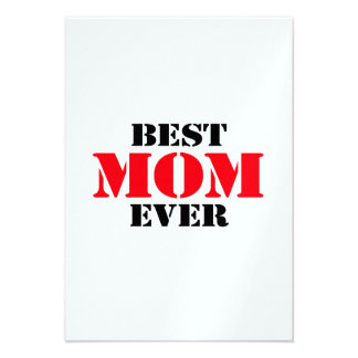 A melhor mamã nunca convites