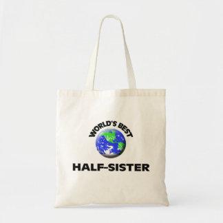 A melhor metade do mundo - irmã bolsa de lona