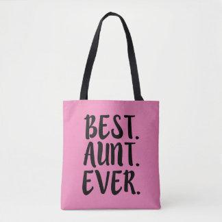 A melhor sacola engraçada do Auntie Nunca Bolsa Tote