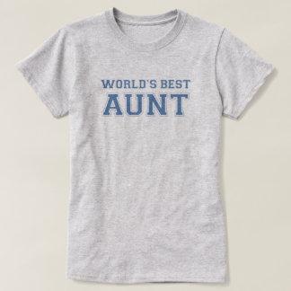 A melhor tia Escolar do mundo Camiseta