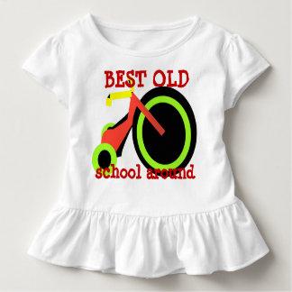 A melhor velha escola ao redor - t-shirt