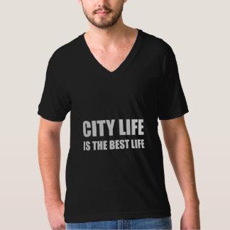 A melhor vida da vida urbana camiseta
